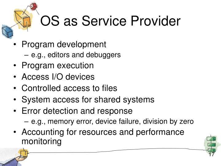 OS as Service Provider