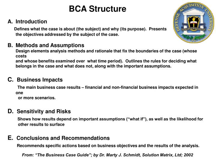 BCA Structure