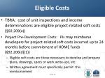 eligible costs
