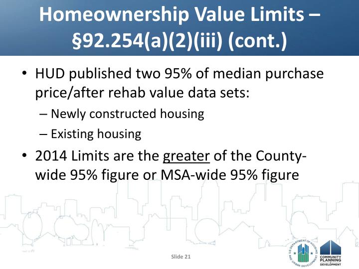 Homeownership Value