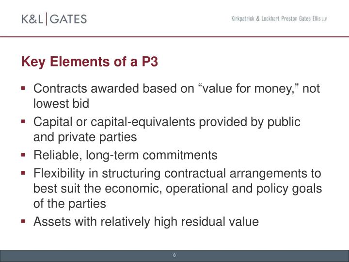 Key Elements of a P3
