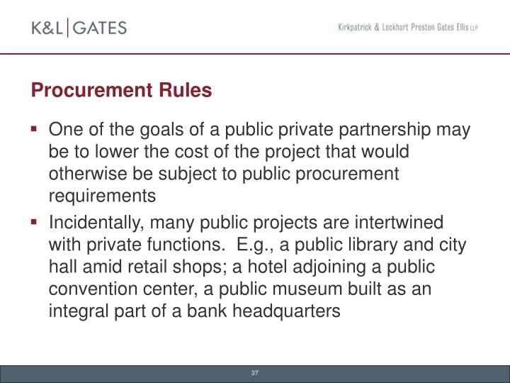 Procurement Rules