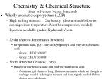 chemistry chemical structure linear polyesters versus branched1