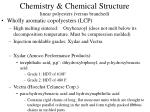 chemistry chemical structure linear polyesters versus branched3