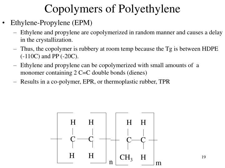 Copolymers of Polyethylene