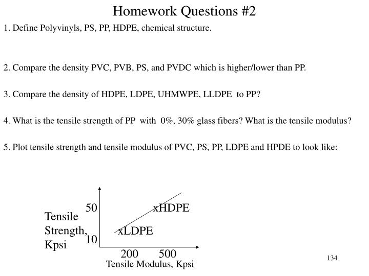 Homework Questions #2