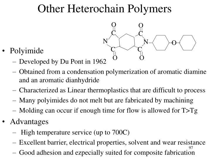 Other Heterochain Polymers