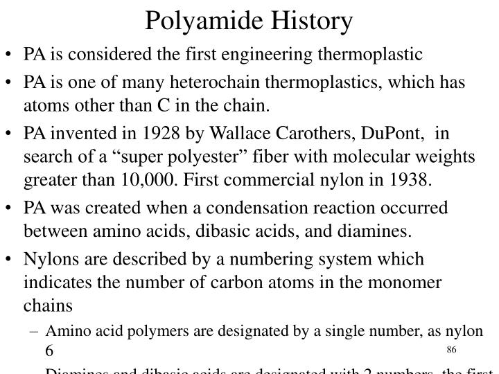 Polyamide History