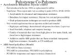 polystyrene co polymers1