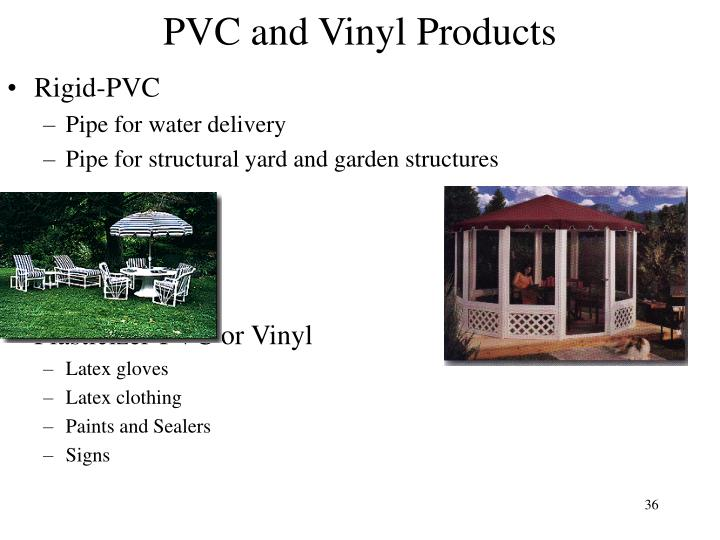 PVC and Vinyl Products