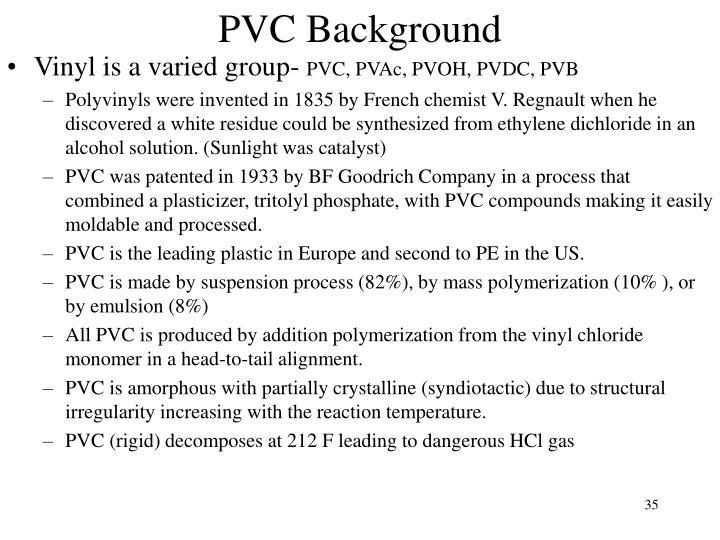 PVC Background