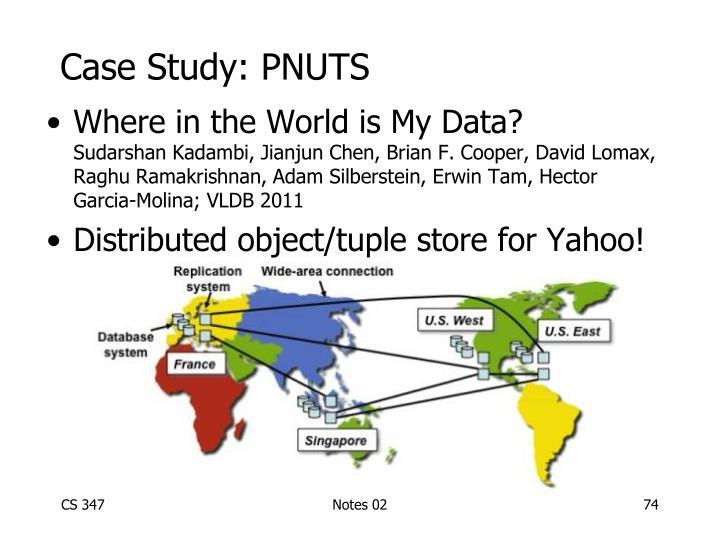 Case Study: PNUTS