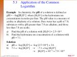 5 3 application of the common logarithm