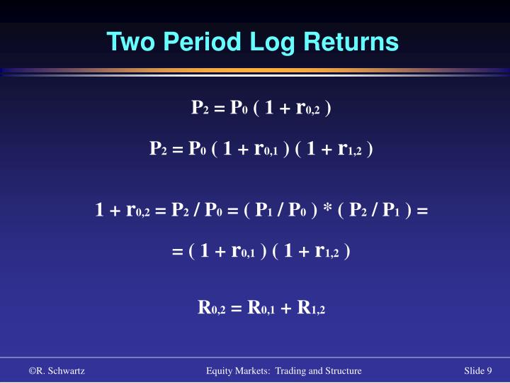 Two Period Log Returns