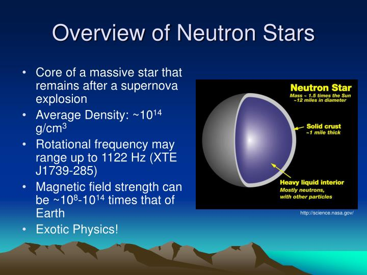 Overview of neutron stars