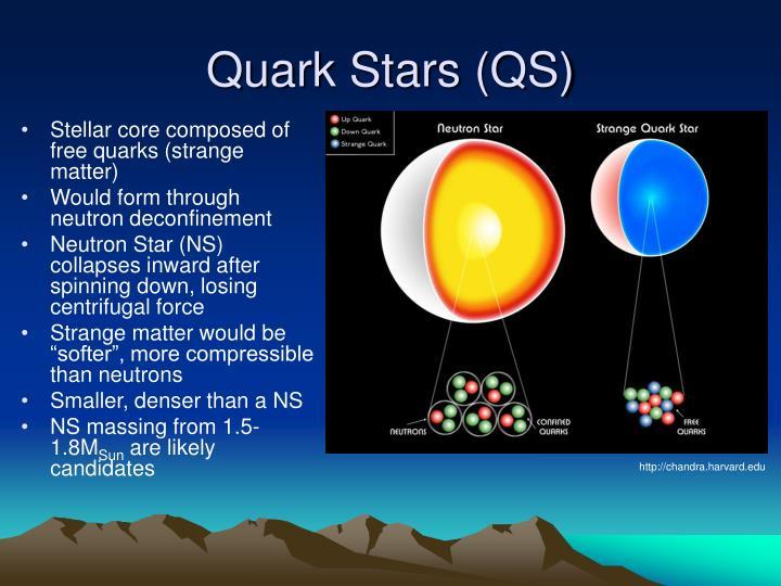 Quark Stars (QS)