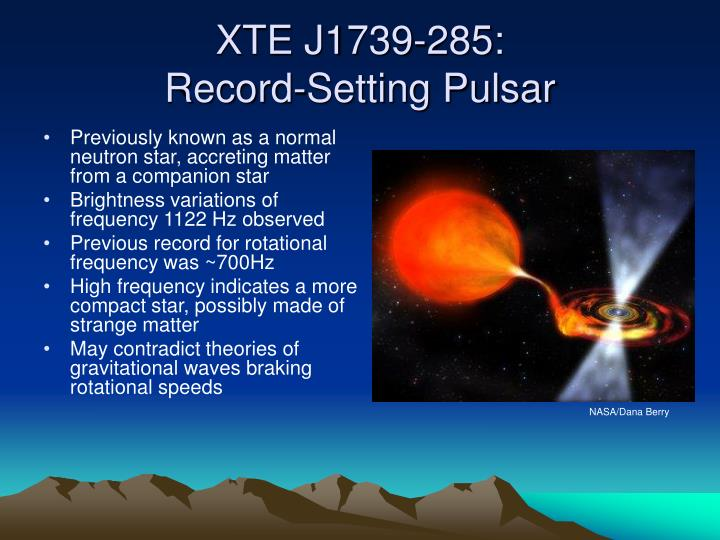 XTE J1739-285: