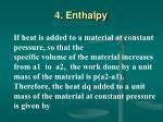 4 enthalpy