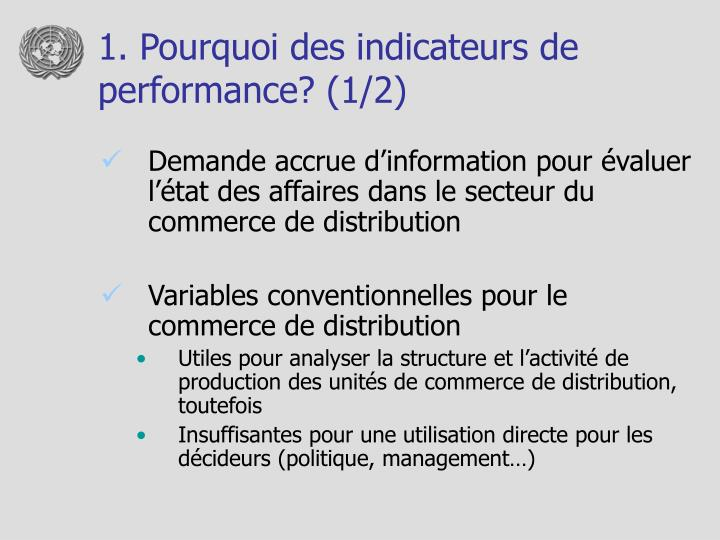 1 pourquoi des indicateurs de performance 1 2