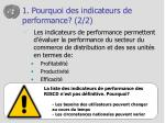 1 pourquoi des indicateurs de performance 2 2