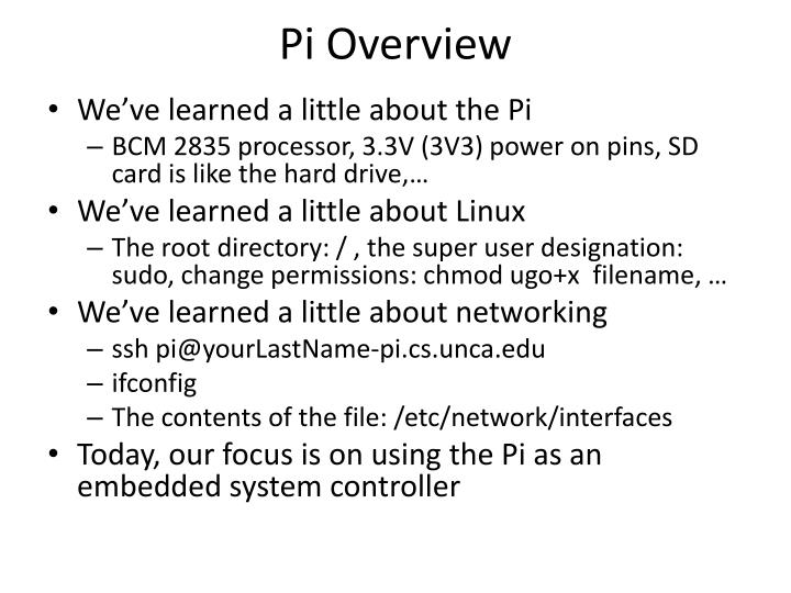 Pi overview1