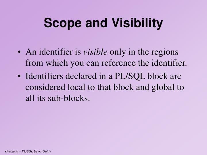 An identifier is