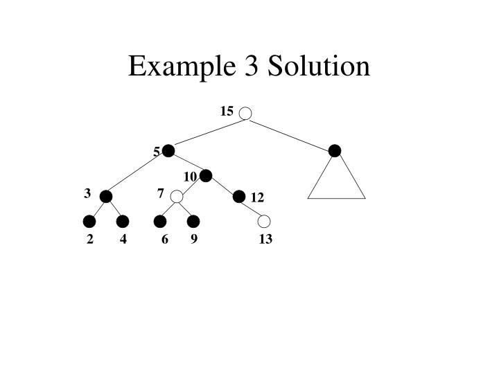 Example 3 Solution