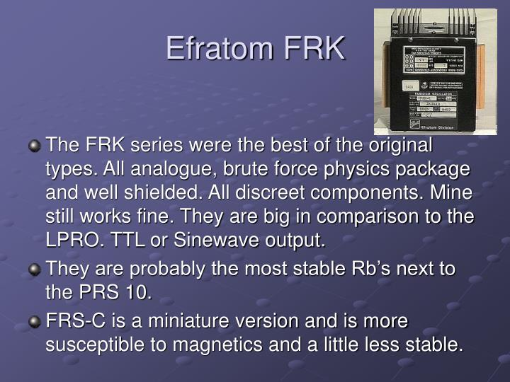 Efratom FRK