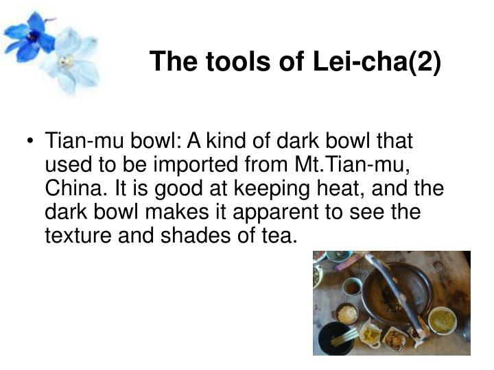 The tools of Lei-cha(2)