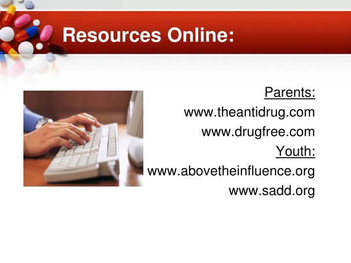 Resources Online: