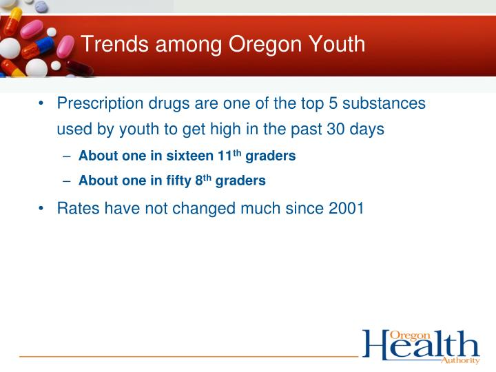 Trends among Oregon Youth