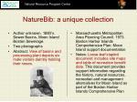 naturebib a unique collection