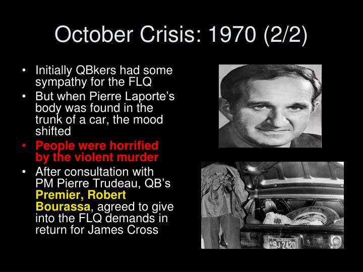 October Crisis: 1970 (2/2)