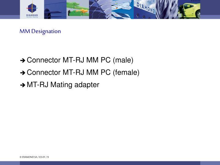 MM Designation