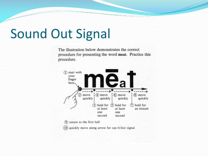 Sound Out Signal