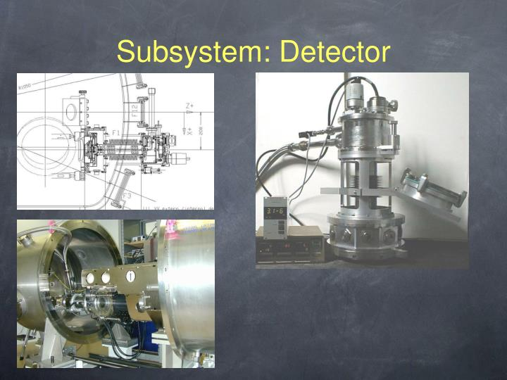 Subsystem: Detector