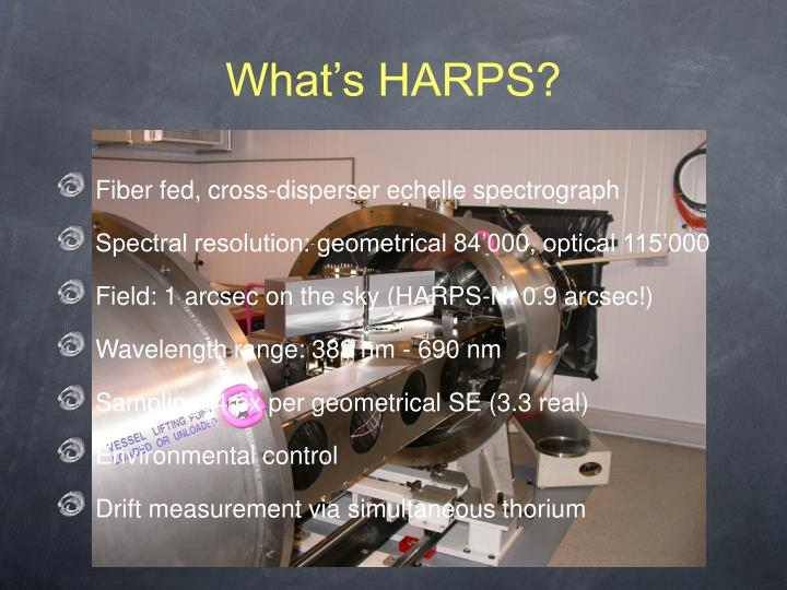 What's HARPS?