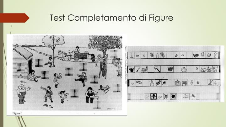Test Completamento di Figure