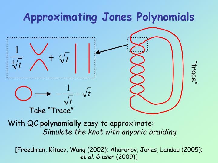 Approximating Jones Polynomials