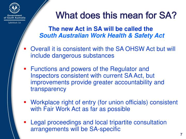 What does this mean for SA?