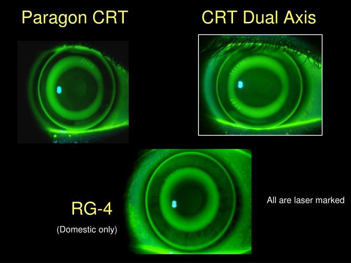 Paragon CRT               CRT Dual Axis