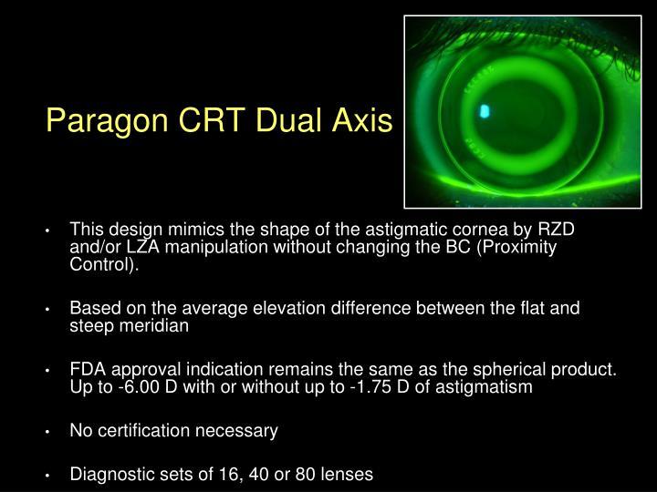 Paragon CRT Dual Axis