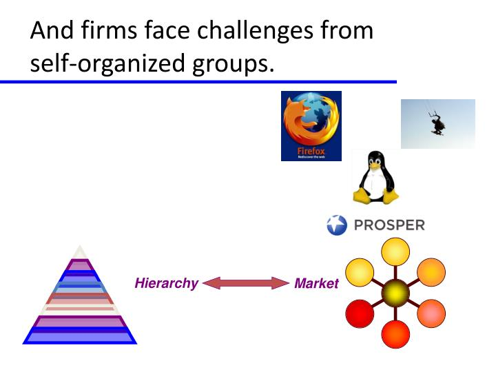 And firms face challenges from