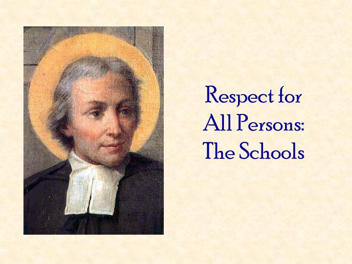 Respect for