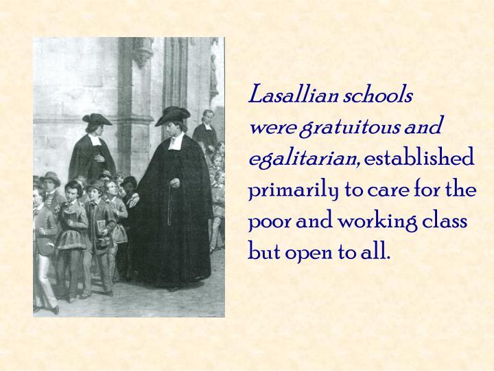 Lasallian schools