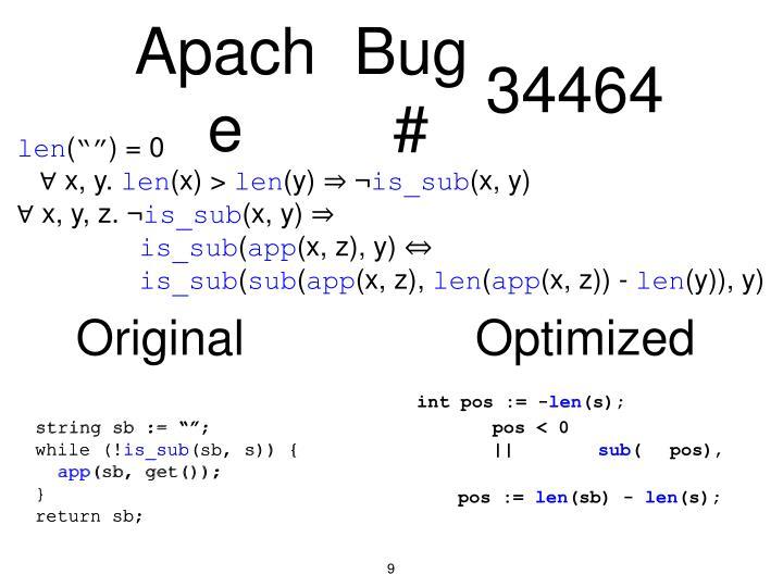 Bug #