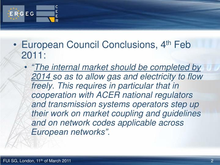 European Council Conclusions, 4