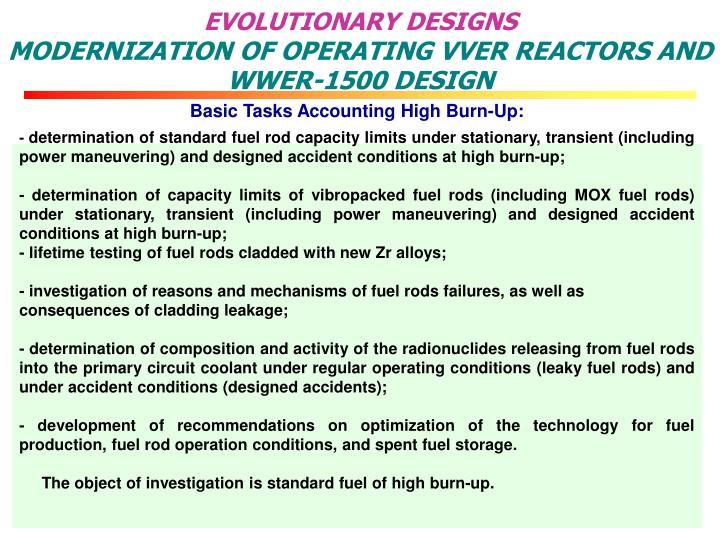 EVOLUTIONARY DESIGNS