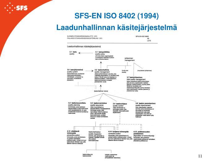 SFS-EN ISO 8402 (1994)