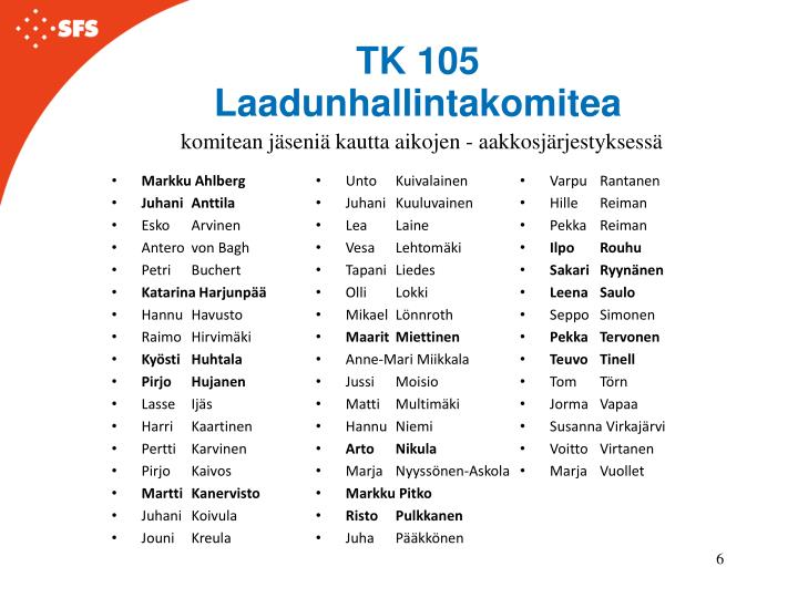 TK 105